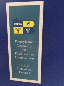 PAPSA Code of Professional Conduct